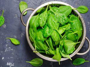 Jak zachovat zelenou barvu špenátu