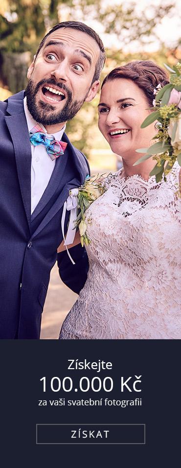 Získejte 100.000 Kč za vaši svatební fotografii