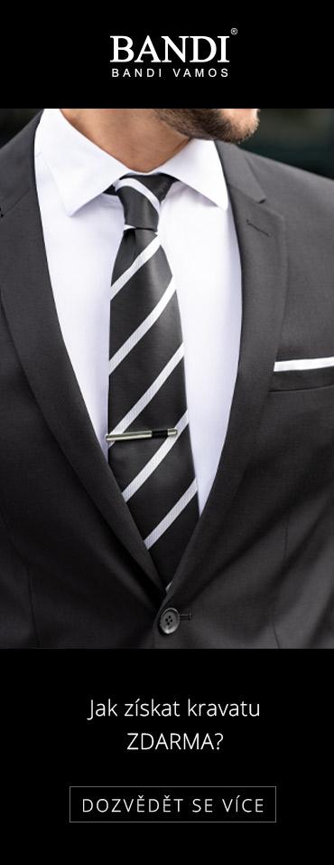 Jak získat kravatu ZDARMA?