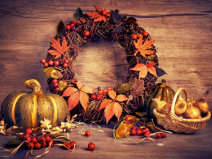 Vyrobte si podzimní věnec na dveře
