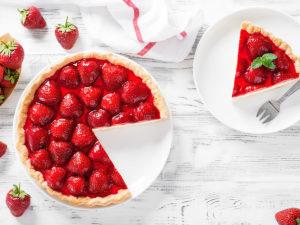 Letní ovocný dezert