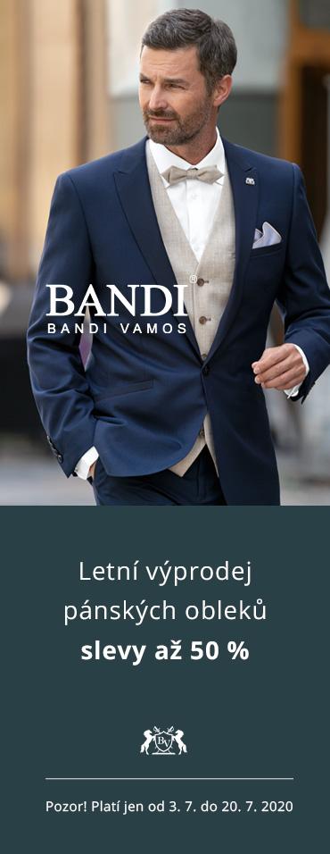Letní výprodej pánských obleků